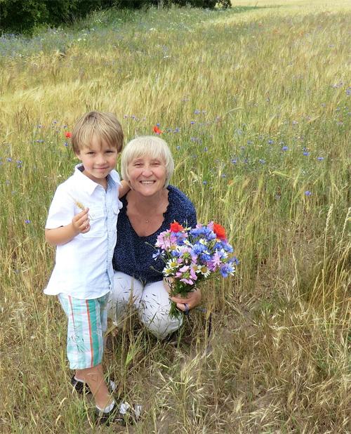 Русское бабушка и внук фото 735-151
