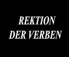 Управление немецких глаголов Список немецких глаголов с